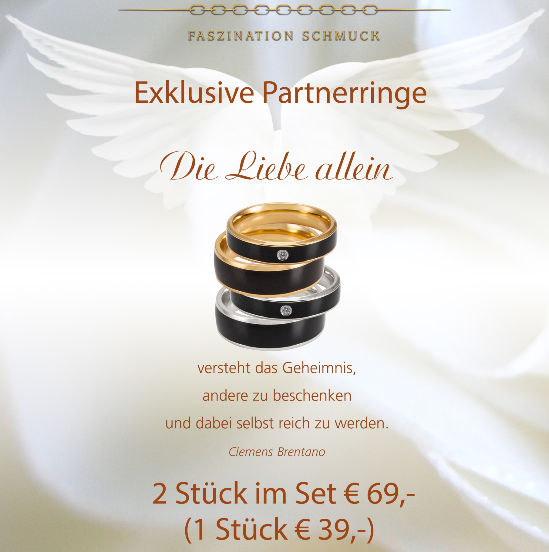 Exklusive Partnerringe!